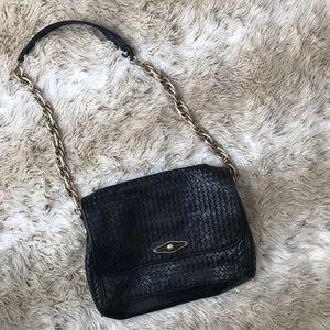 NWOT ELLIOT LUCCA Black Leather Purse